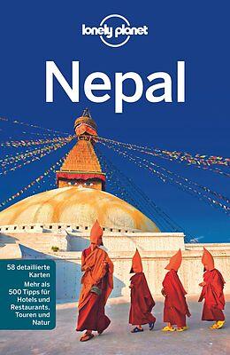 Kartonierter Einband Lonely Planet Reiseführer Nepal von Bradley Mayhew, Lindsay Brown, Paul Stiles