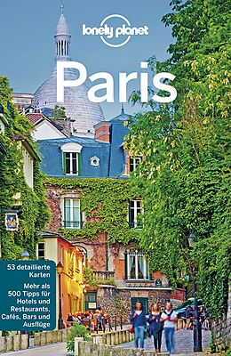 Kartonierter Einband Lonely Planet Reiseführer Paris von Catherine Le Nevez, Nicola Williams, Christopher Pitts
