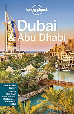 Kartonierter Einband Lonely Planet Reiseführer Dubai & Abu Dhabi von Andrea Schulte-Peevers, Kevin Raub