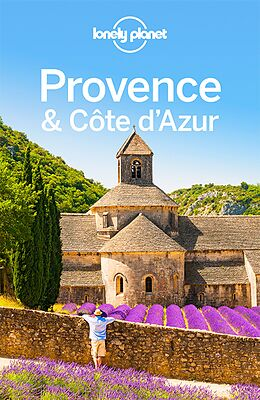 Kartonierter Einband Lonely Planet Reiseführer Provence, Côte d'Azur von Emilie Filou