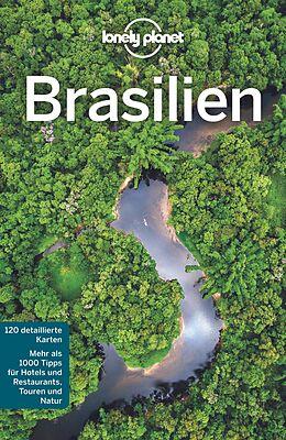 Kartonierter Einband Lonely Planet Reiseführer Brasilien von Regis St. Louis