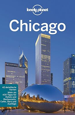 Kartonierter Einband Lonely Planet Reiseführer Chicago von Karla Zimmerman