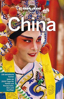 Kartonierter Einband Lonely Planet Reiseführer China von Damian Harper