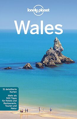 Kartonierter Einband Lonely Planet Reiseführer Wales von Peter Dragicevich