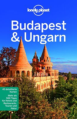 Kartonierter Einband Lonely Planet Reiseführer Budapest & Ungarn von Steve Fallon, Sally Schafer