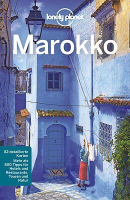 Kartonierter Einband Lonely Planet Reiseführer Marokko von Paul Clammer
