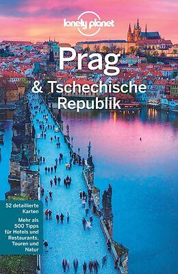 Kartonierter Einband Lonely Planet Reiseführer Prag & Tschechische Republik von Neil Wilson, Mark Baker