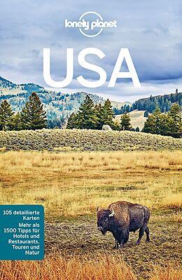 Kartonierter Einband Lonely Planet Reiseführer USA von Regis St. Louis