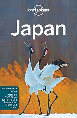 Kartonierter Einband Lonely Planet Reiseführer Japan von Chris Rowthorn