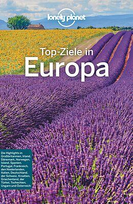 Kartonierter Einband Lonely Planet Reiseführer Top-Ziele in Europa von
