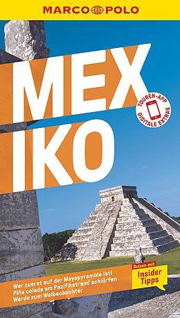 Kartonierter Einband MARCO POLO Reiseführer Mexiko von Birgit Müller-Wöbcke, Dr. Manfred Wöbcke