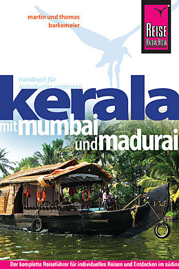 Paperback Reise Know-How Kerala mit Mumbai und Madurai von Thomas Barkemeier, Martin Barkemeier