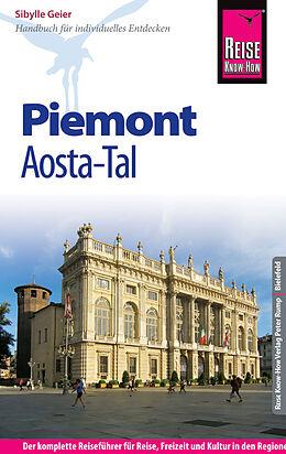 Kartonierter Einband Reise Know-How Reiseführer Piemont und Aosta-Tal von Sibylle Geier