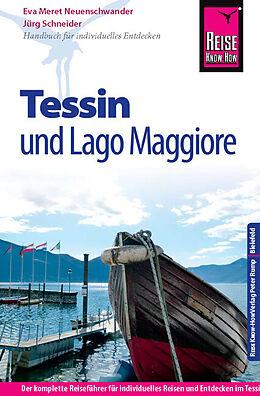 Paperback Reise Know-How Tessin und Lago Maggiore von Jürg Schneider, Eva Meret Neuenschwander