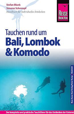 Paperback Reise Know-How Tauchen rund um Bali, Lombok und Komodo von Stefan Blank, Simone Schrempf