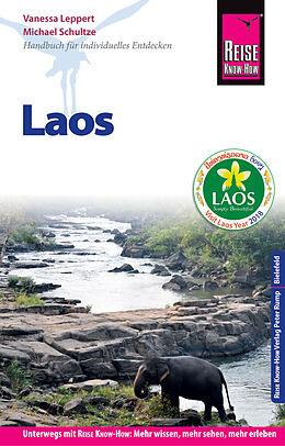 Paperback Reise Know-How Reiseführer Laos von Vanessa Leppert, Michael Schultze