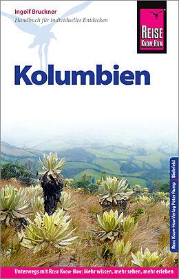 Paperback Reise Know-How Reiseführer Kolumbien von Ingolf Bruckner