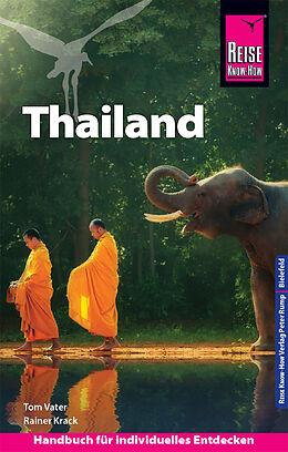 Paperback Reise Know-How Reiseführer Thailand von Tom Vater, Rainer Krack
