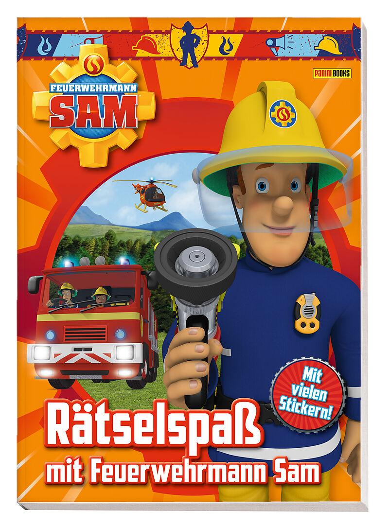Herunterladen E Buch Feuerwehrmann Sam Ratselspass Mit Feuerwehrmann