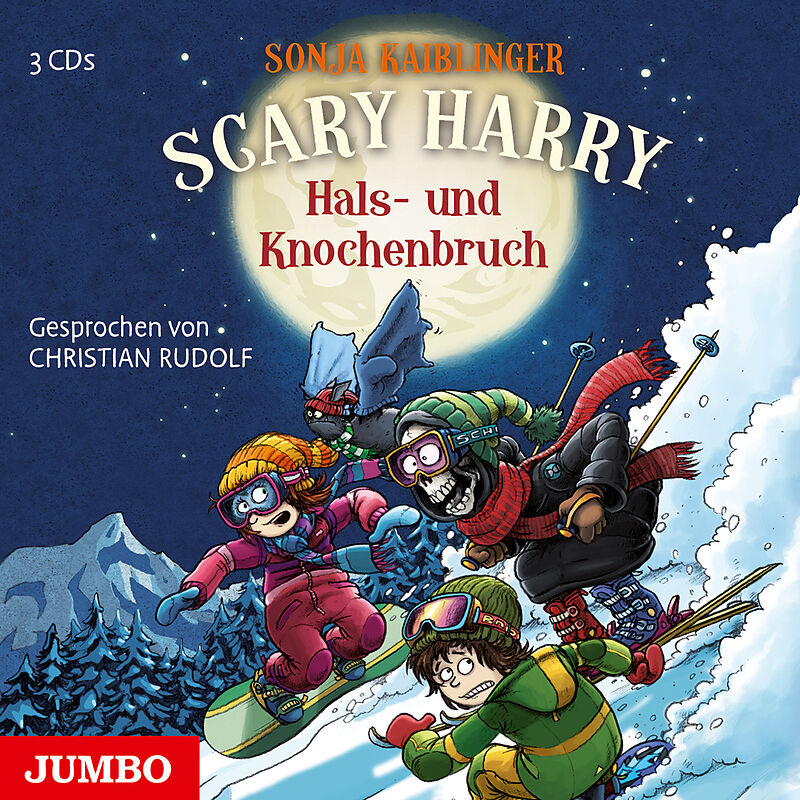 Scary Harry. Hals- und Knochenbruch - Sonja Kaiblinger - Hörbuch ...