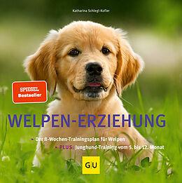 Kartonierter Einband Welpen-Erziehung von Katharina Schlegl-Kofler