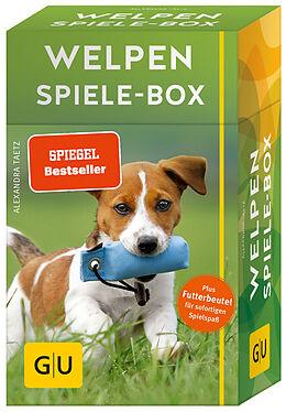Fester Einband Welpen-Spiele-Box von Alexandra Taetz
