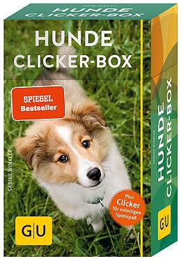 Fester Einband Hunde-Clicker-Box von Sabine Winkler