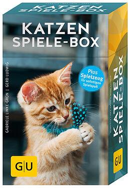Fester Einband Katzen-Spiele-Box von Gabriele Linke-Grün, Gerd Ludwig