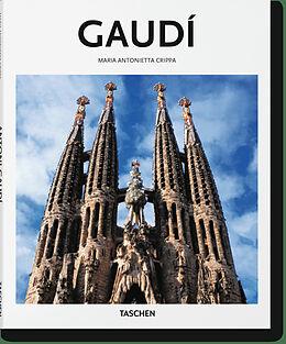 Fester Einband Gaudí von Maria Antonietta Crippa