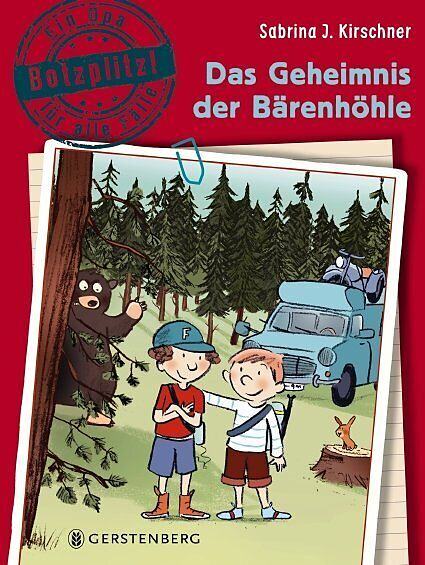 Das Geheimnis der Bärenhöhle [Version allemande]