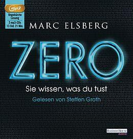 Audio CD (CD/SACD) ZERO - Sie wissen, was du tust von Marc Elsberg