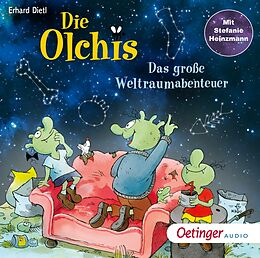 Audio CD (CD/SACD) Die Olchis. Das große Weltraumabenteuer von Erhard Dietl