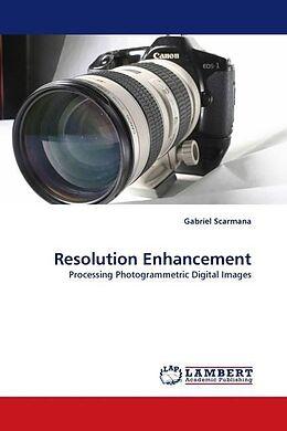Kartonierter Einband Resolution Enhancement von Gabriel Scarmana