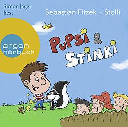 Audio CD (CD/SACD) Pupsi und Stinki von Sebastian Fitzek
