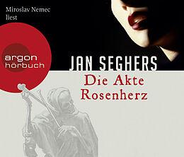 Audio CD (CD/SACD) Die Akte Rosenherz von Jan Seghers