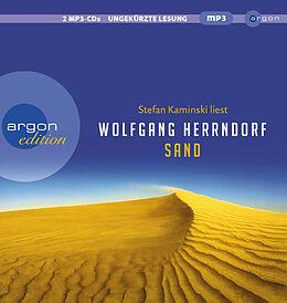 Audio CD (CD/SACD) Sand von Wolfgang Herrndorf