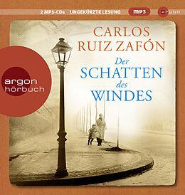 Audio CD (CD/SACD) Der Schatten des Windes von Carlos Ruiz Zafón
