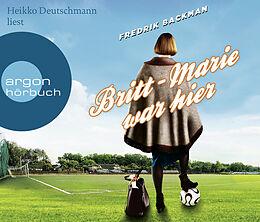 Audio CD (CD/SACD) Britt-Marie war hier von Fredrik Backman