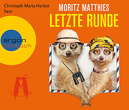 Audio CD (CD/SACD) Letzte Runde von Moritz Matthies
