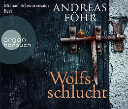 Audio CD (CD/SACD) Wolfsschlucht von Andreas Föhr