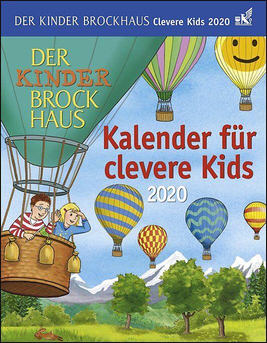 der kinder brockhaus kalender für clevere kids kalender