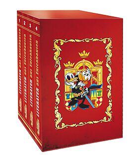 Kartonierter Einband Lustiges Taschenbuch Literatur Bestseller (4 Bände im Schuber) von Disney
