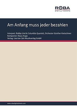 E-Book (pdf) Am Anfang muss jeder bezahlen von Klaus Hugo, Bernhard Bohlke