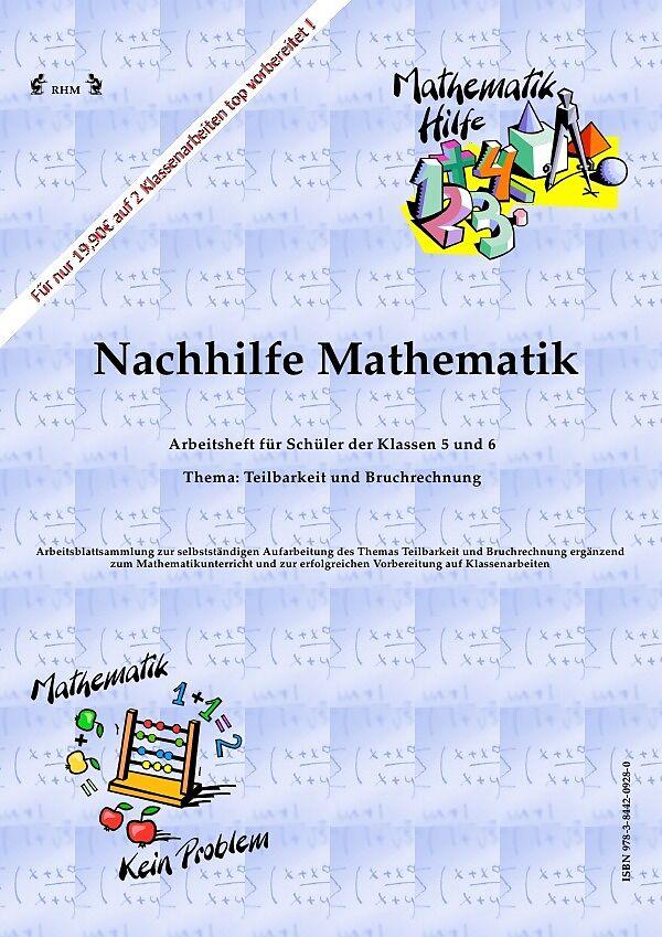 Nachhilfe Mathematik - Teilbarkeit und Bruchrechnung - RHM RHM ...