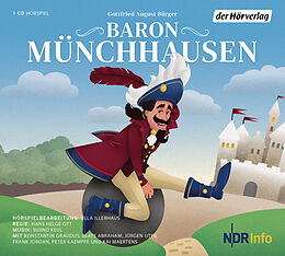 Audio CD (CD/SACD) Baron Münchhausen von Gottfried August Bürger