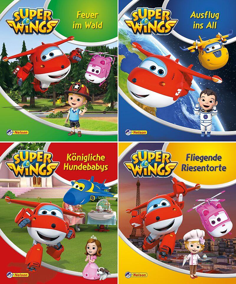 Nelson Mini Bücher 4er Super Wings 1 4 Acheter La Livre Ex