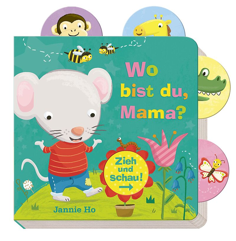 Zieh und schau: Wo bist du, Mama? [Versione tedesca]