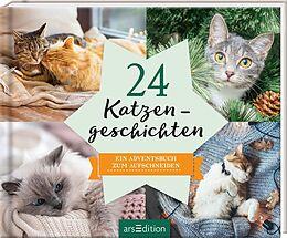 Fester Einband 24 Katzengeschichten von