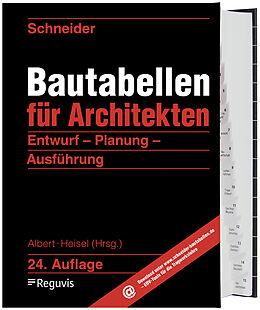Fester Einband Schneider - Bautabellen für Architekten von Klaus-Jürgen Schneider, Kerstin Rjasanowa