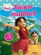 Heidi. Riesenmalbuch [Version allemande]